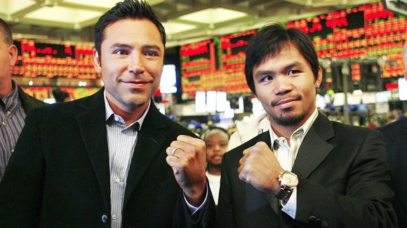 Oscar De La Hoya, Manny Pacquiao