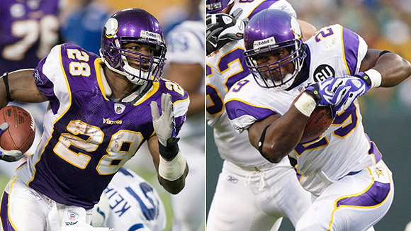 Adrian Peterson/Chester Taylor