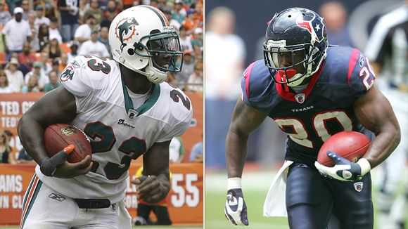 Ronnie Brown and Steve Slaton