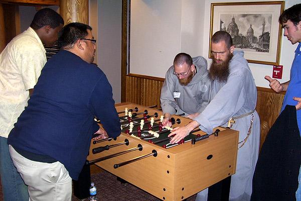 Franciscian Brothers Foosball
