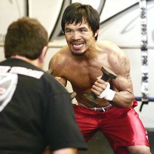 Pacquiao Weirdface