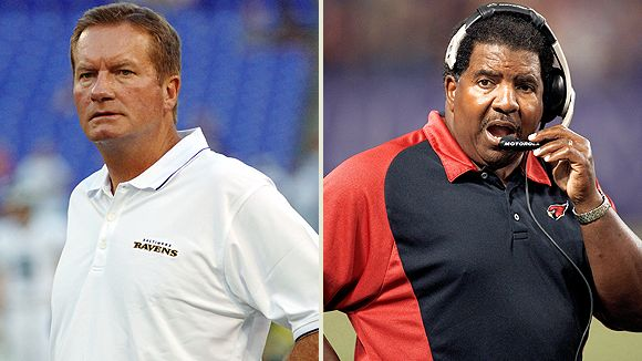 Jim Fassel and Dennis Green