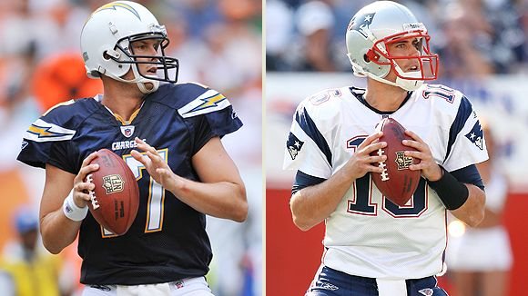 Philip Rivers and Matt Cassel