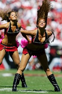 Tampa Bay Cheerleader