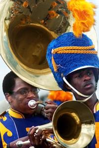 Booker T. Washington Marching Band