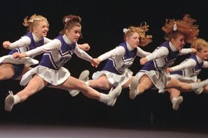 Marshall High Cheerleaders