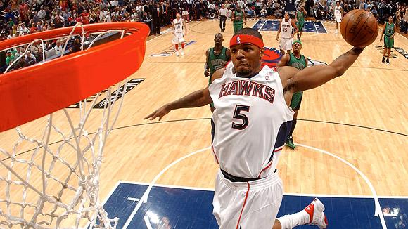 DIKEMBE MUTOMBO, East Atlanta Hawks Mutombo led the