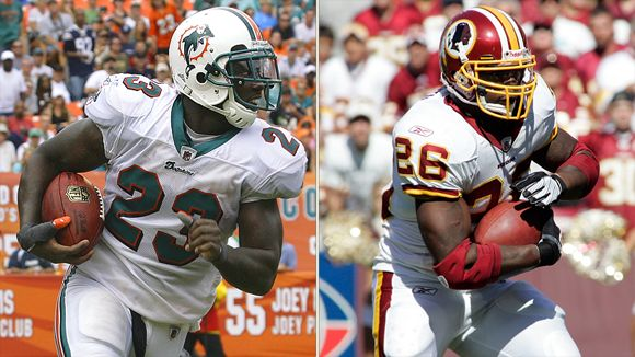 Ronnie Brown and Clinton Portis