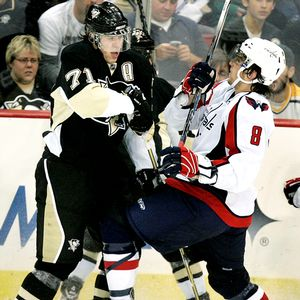 Evgeni Malkin and Alex Ovechkin