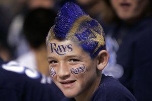 Rays fan
