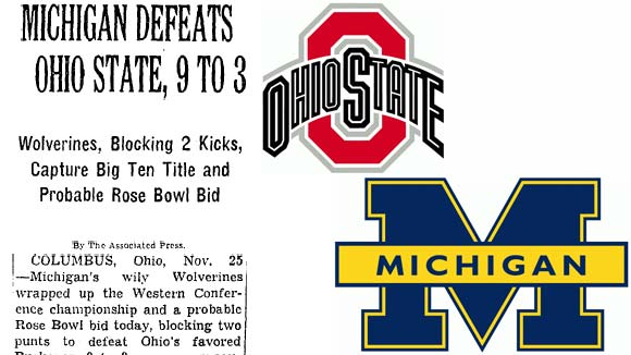 Michigan-Ohio State 1950