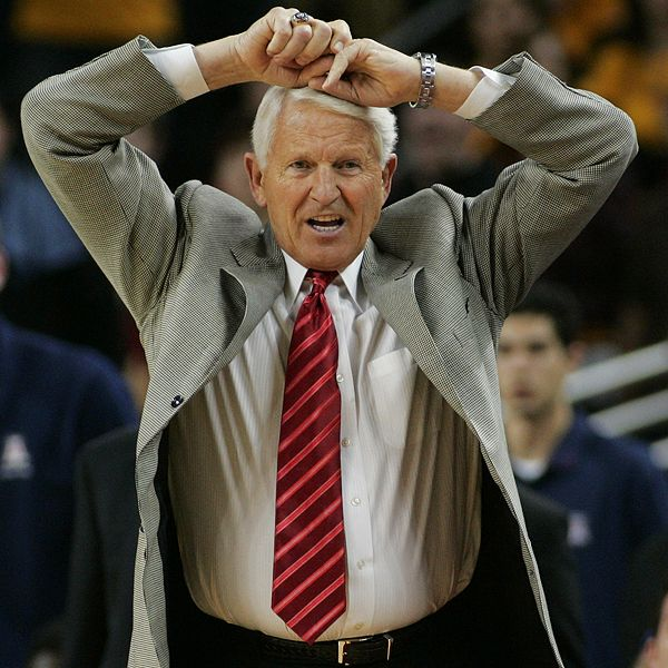how tall is lute olson