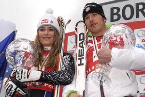 Lindsey Vonn and Bode Miller
