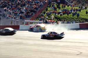 Michael Waltrip Bristol Crash
