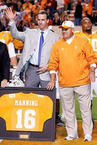 Phil Fulmer and Peyton Manning