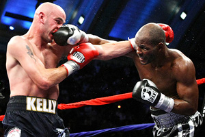 Kelly Pavlik & Bernard Hopkins