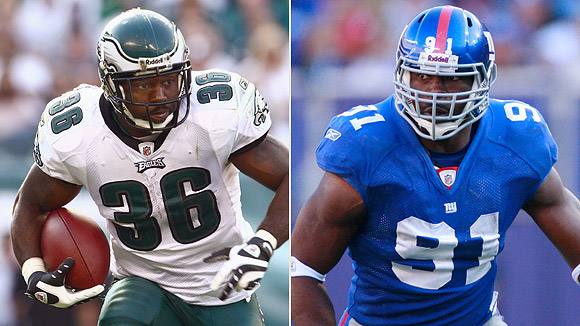 Brian Westbrook/Justin Tuck