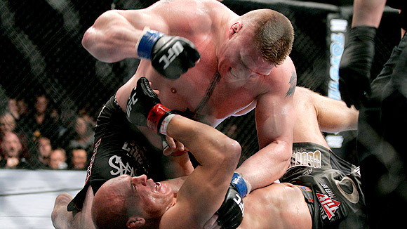 Brock Lesnar MMA UFC Randy Couture