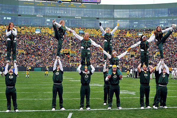 Packers Cheerleaders