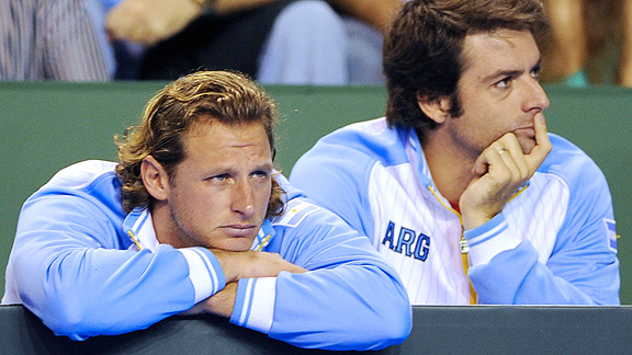 David Nalbandian and Agustin Calleri