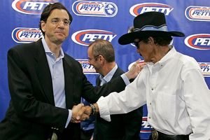 Richard Petty and David Zucker