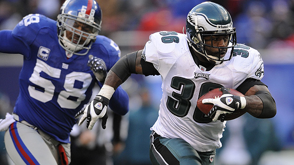 I hate you Brian Westbrook, I hate you!