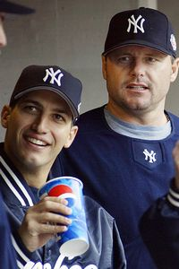 Roger Clemens and Andy Pettite