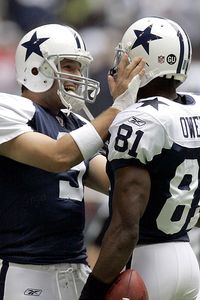 Terrell Owens and Tony Romo
