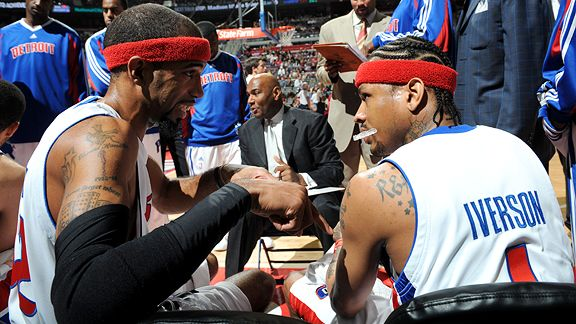 Richard Hamilton and Allen Iverson