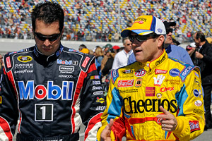Sam Hornish JR & Bobby Labonte