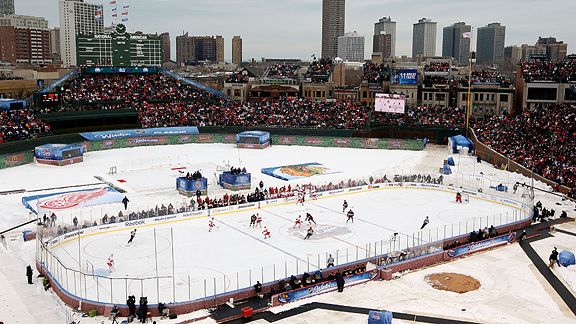 NHL Winter Classic at Wrigley Field