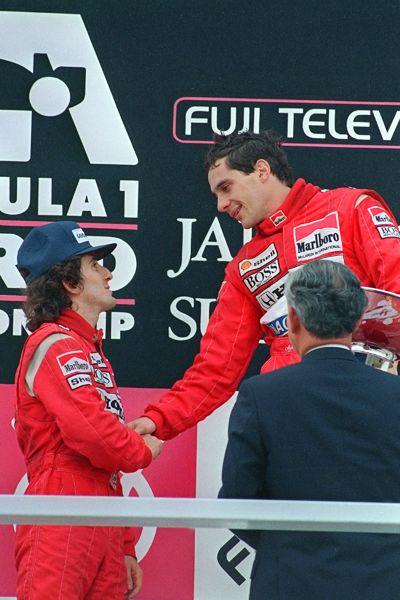 Ayrton Senna, Alain Prost