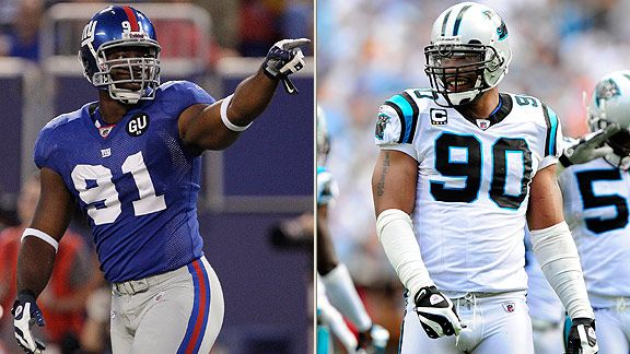 Justin Tuck & Julius Peppers