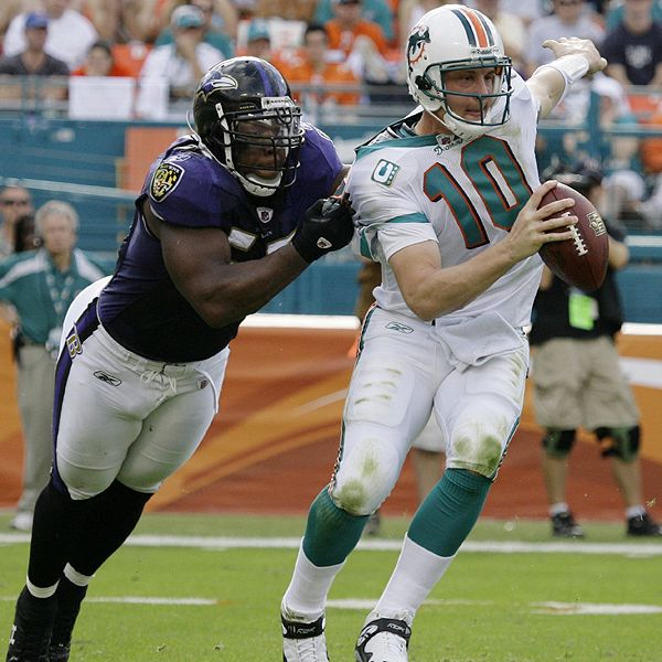 Terrell Suggs/Chad Pennington