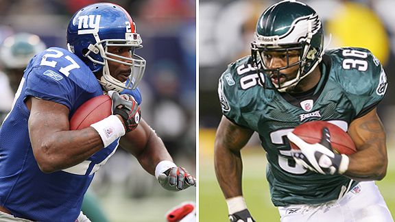Brandon Jacobs/Brian Westbrook