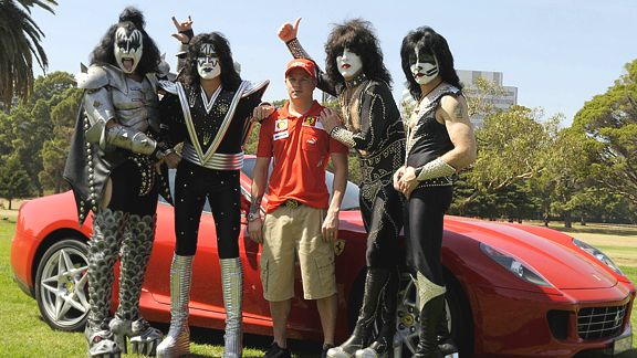 Raikkonen and Kiss