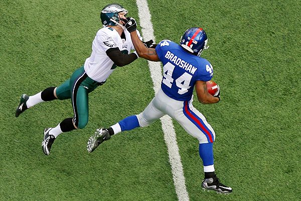 David Akers and Ahmad Bradshaw