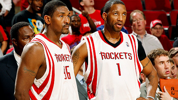 Ron Artest and Tracy McGrady