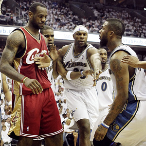 LeBron James & DeShawn Stevenson