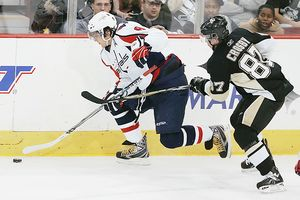 Alex Ovechkin and Sidney Crosby