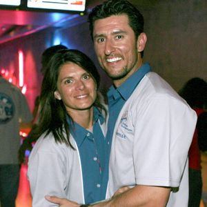 Nomar Garciaparra with wife Mia Hamm