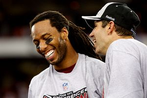 Kurt Warner and Larry Fitzgerald