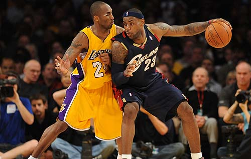Kobe and LeBron
