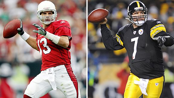 Kurt Warner and Ben Roethlisberger