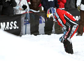 Levi LaVallee didn't make the finals but maybe now he can get some rest.