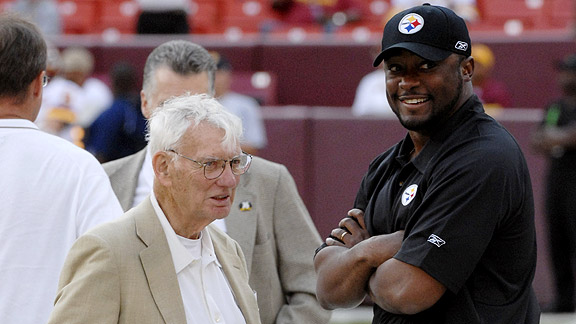 Dan Rooney and Mike Tomlin