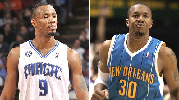 Rashard Lewis and David West