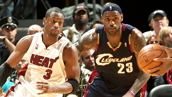 Dwyane Wade & LeBron James