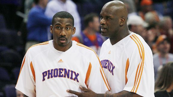 Amare, Shaq