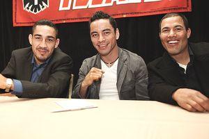 Humberto Soto, Fernando Montiel, Jose Luis Castillo